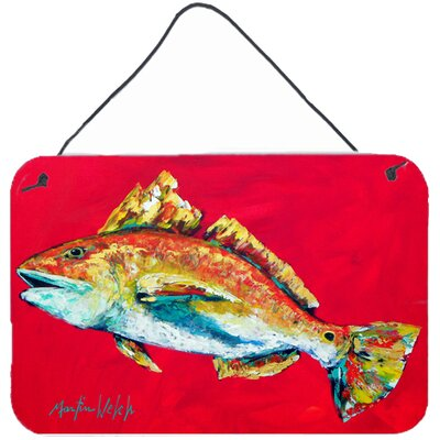 Fish Woo Hoo by Martin Welch Painting Print Plaque MW1103DS812