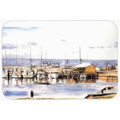 Pass Bait Shop Kitchen/Bath Mat Size: 20 H x 30 W x 0.25 D