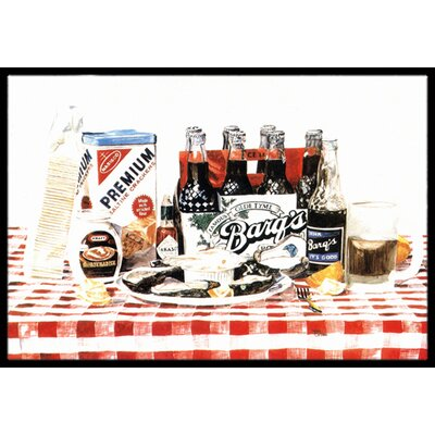 Barqs Oysters Doormat Rug Size: Rectangle 16 x 2 3