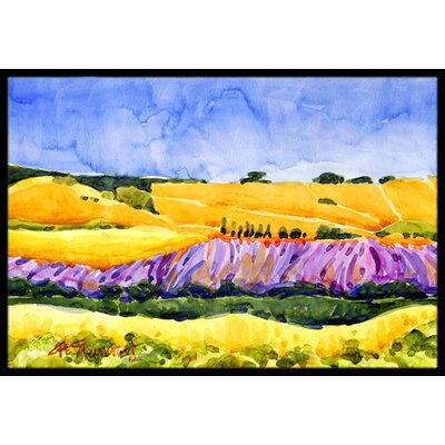 Landscape Doormat Mat Size: Rectangle 16 x 2 3