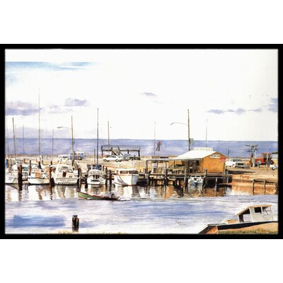 Pass Bait Shop Doormat Mat Size: Rectangle 16 x 2 3