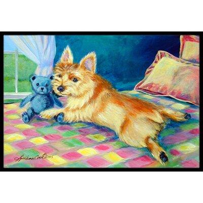 Norwich Terrier Doormat Rug Size: 2 x 3