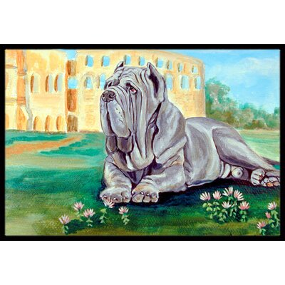 Neapolitan Mastiff Doormat Rug Size: 2 x 3