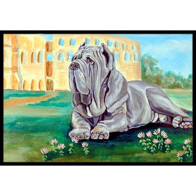 Neapolitan Mastiff Doormat Mat Size: Rectangle 16 x 2 3