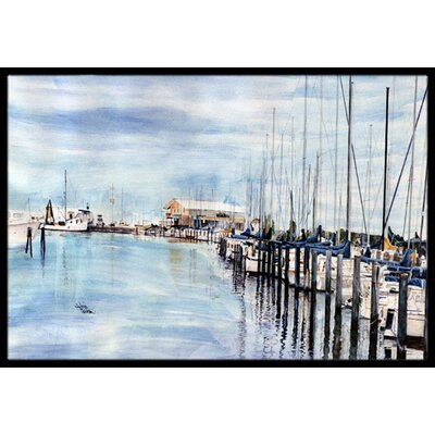 The Warf Doormat Rug Size: 2 x 3