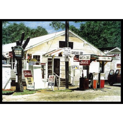 Garcias Grocery Doormat Mat Size: Rectangle 16 x 2 3