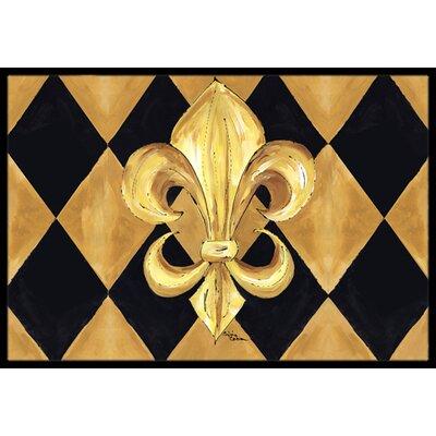 Fleur De Lis New Orleans Doormat