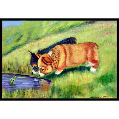 Corgi Doormat Rug Size: 16 x 2 3