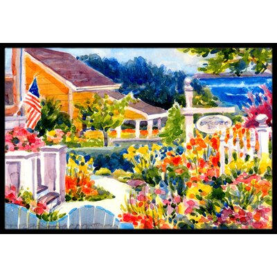Mooresville Cottage Doormat Mat Size: Rectangle 16 x 2 3