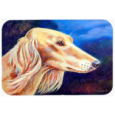 Saluki Kitchen/Bath Mat Size: 24 H x 36 W x 0.25 D