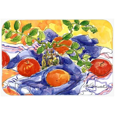 Apples Kitchen/Bath Mat Size: 24