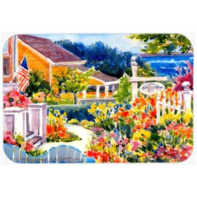 Seaside Beach Cottage Kitchen/Bath Mat Size: 20 H x 30 W x 0.25 D