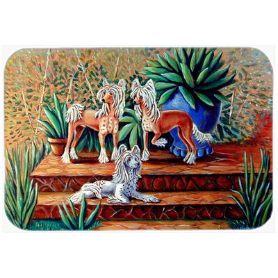 Chinese Crested Kitchen/Bath Mat Size: 24 H x 36 W x 0.25 D