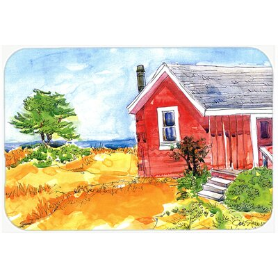 Old Cottage House At The Lake/Beach Kitchen/Bath Mat Size: 24 H x 36 W x 0.25 D