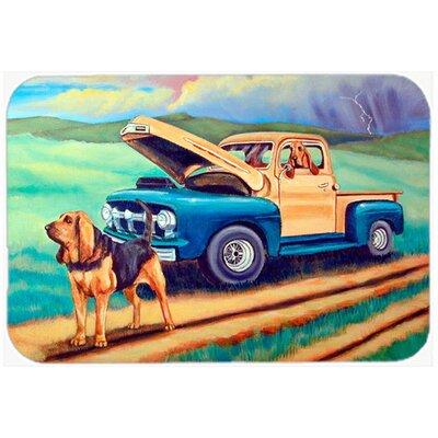 Bloodhound Kitchen/Bath Mat Size: 24 H x 36 W x 0.25 D