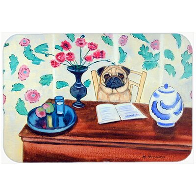 Pug Kitchen/Bath Mat Size: 24 H x 36 W x 0.25 D
