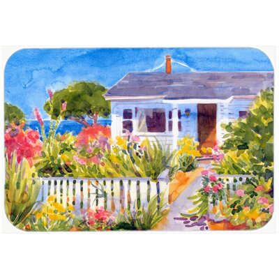 Seaside Beach Cottage Kitchen/Bath Mat Size: 24 H x 36 W x 0.25 D