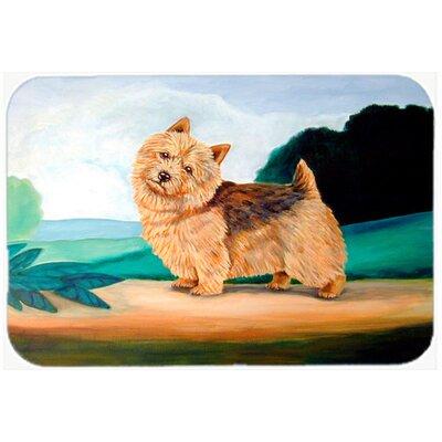 Norwich Terrier Kitchen/Bath Mat Size: 24 H x 36 W x 0.25 D