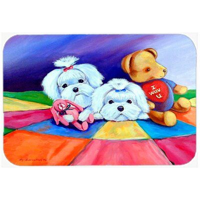 Maltese Kitchen/Bath Mat Size: 20 H x 30 W x 0.25 D