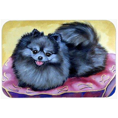 Pomeranian Kitchen/Bath Mat Size: 24 H x 36 W x 0.25 D