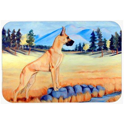 Great Dane Kitchen/Bath Mat Size: 24 H x 36 W x 0.25 D