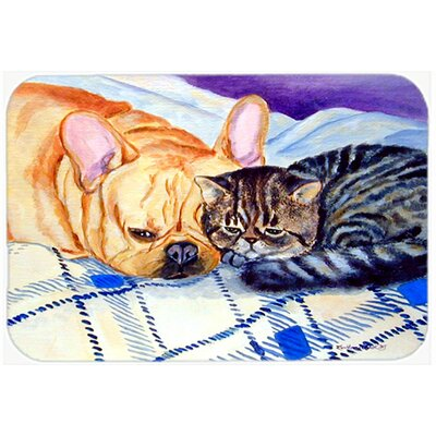 Cat Kitchen/Bath Mat Size: 24 H x 36 W x 0.25 D
