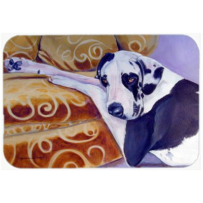 Harlequin Natural Great Dane Kitchen/Bath Mat Size: 24 H x 36 W x 0.25 D