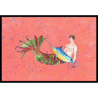 Merman Doormat Rug Size: 16 x 2 3