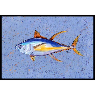 Tuna Fish Doormat Rug Size: Rectangle 2 x 3