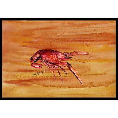 Crawfish Doormat Rug Size: Rectangle 2 x 3