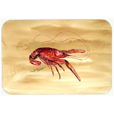 Crawfish Kitchen/Bath Mat Size: 20 H x 30 W x 0.25 D