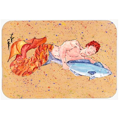 Merman Kitchen/Bath Mat Size: 24 H x 36 W x 0.25 D