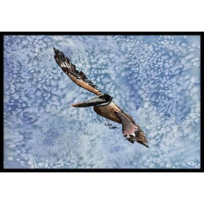 Pelican Doormat Mat Size: Rectangle 16 x 2 3