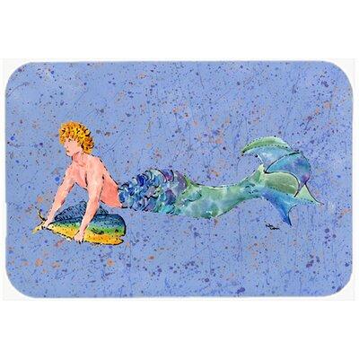 Merman Kitchen/Bath Mat Size: 20 H x 30 W x 0.25 D