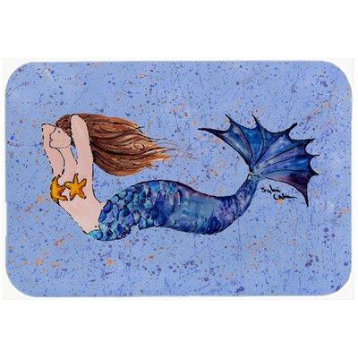 Mermaid Kitchen/Bath Mat Size: 24 H x 36 W x 0.25 D