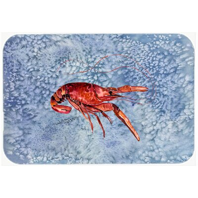 Crawfish Kitchen/Bath Mat Size: 20
