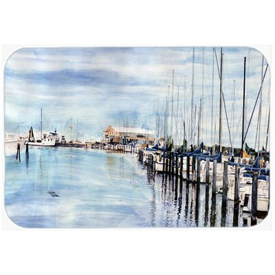 The Warf Kitchen/Bath Mat Size: 24 H x 36 W x 0.25 D