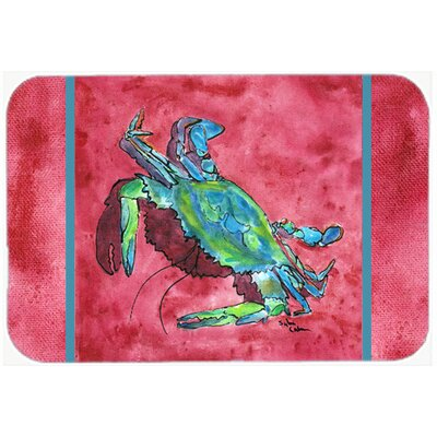 Crab Kitchen/Bath Mat Size: 24 H x 36 W x 0.25 D
