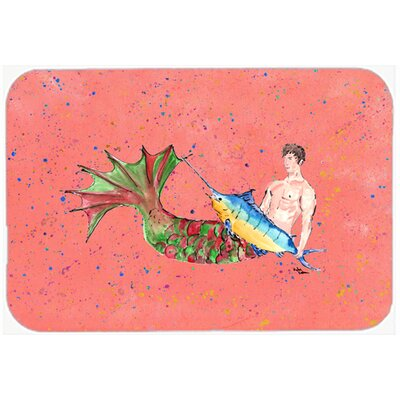 Merman Kitchen/Bath Mat Size: 20 H x 30 W x 0.25 D