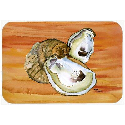 Oyster Kitchen/Bath Mat Size: 20 H x 30 W x 0.25 D