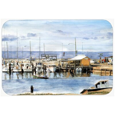 The Pass Bait Shop Kitchen/Bath Mat Size: 24 H x 36 W x 0.25 D
