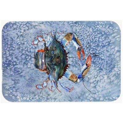 Crab Kitchen/Bath Mat Size: 20 H x 30 W x 0.25 D