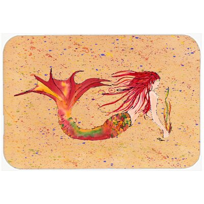 Mermaid Kitchen/Bath Mat Size: 24 H x 36 W x 0.25 D