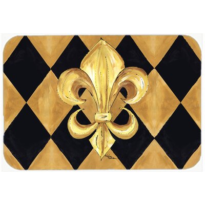 Fleur De Lis New Orleans Kitchen/Bath Mat