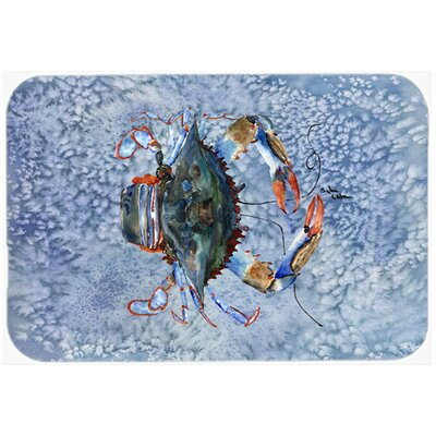Crab Kitchen/Bath Mat Size: 24