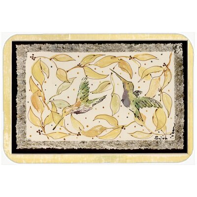 Hummingbird Kitchen/Bath Mat
