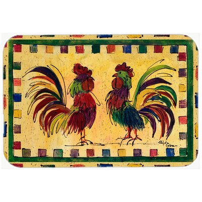 Bird Rooster Kitchen/Bath Mat Size: 20