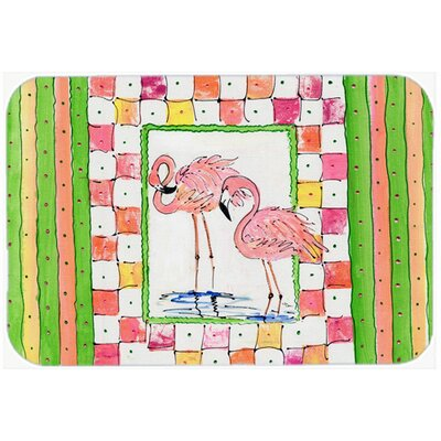 Bird Flamingo Kitchen/Bath Mat Size: 24 H x 36 W x 0.25 D