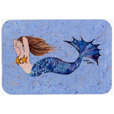 Mermaid Kitchen/Bath Mat Size: 20 H x 30 W x 0.25 D