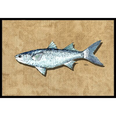 Mullet Doormat Rug Size: Rectangle 16 x 2 3